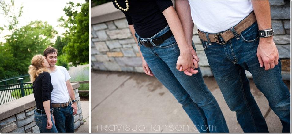Minneapolis Wedding Photographer captures an Engagement Session,